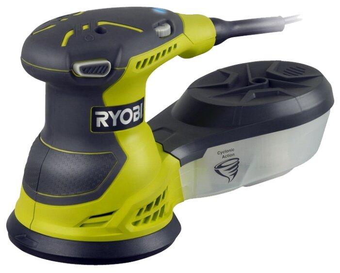 Эксцентриковая шлифмашина RYOBI ROS300