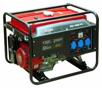 Бензиновый генератор ELITECH БЭС 6500 PX (5000 Вт)