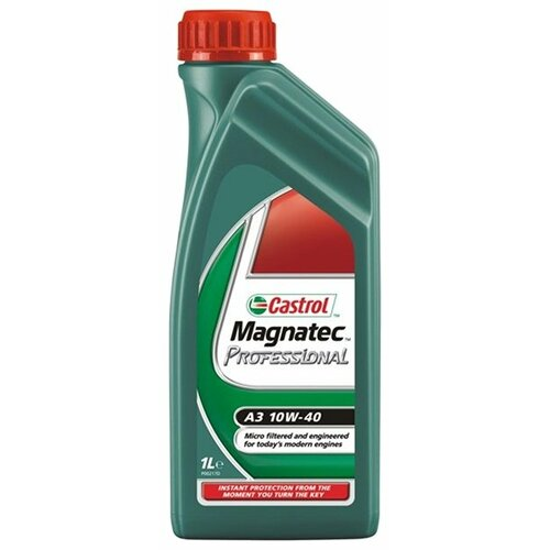 Моторное масло Castrol Magnatec Professional A3 10W-40 1 л cинтетическое моторное масло castrol magnatec 5w40 1 л cas magn 5w40dpf 1l