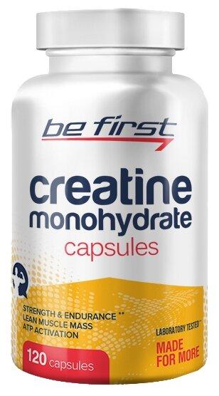 Креатин Be First Creatine Monohydrate Capsules (120 шт.)