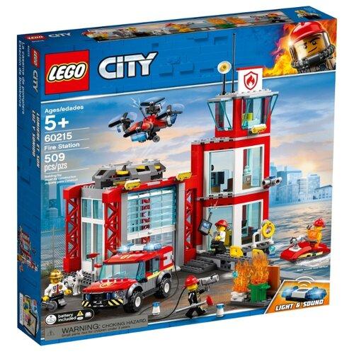 Купить Конструктор LEGO City 60215 Пожарное депо, Конструкторы