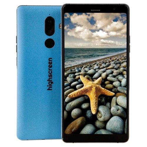 Смартфон Highscreen Power Five Max 2 4/64GB синий highscreen power five max 2 4 64gb черный