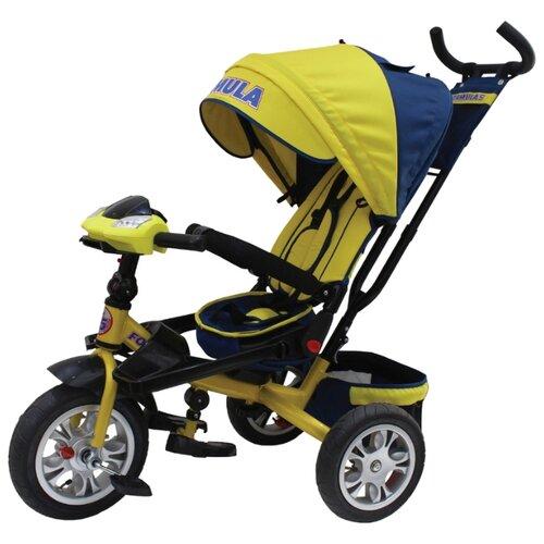 Купить Трехколесный велосипед Formula FA5 Formula 5 желтый, Трехколесные велосипеды