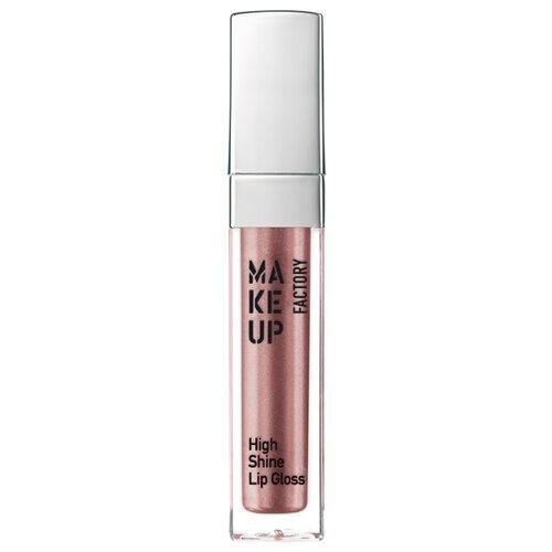 Make up Factory Блеск для губ с эффектом влажных губ High Shine Lip Gloss, 49 Precious Rose