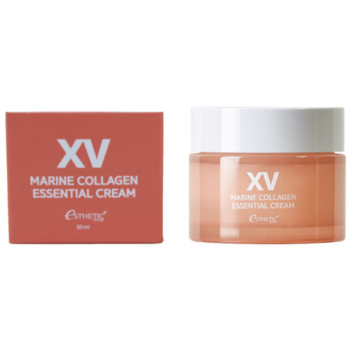 Esthetic House XV Marine Collagen Essential Cream Крем для лица с коллагеном, 50 мл крем для лица увлажняющий с коллагеном moistfull super collagen deep cream 75 мл etude house collagen
