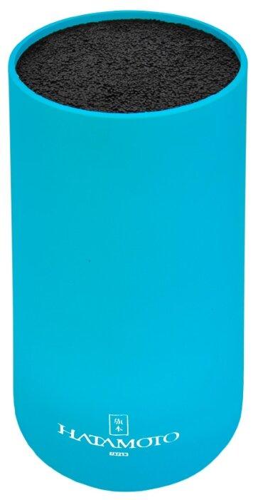Подставка для ножей HATAMOTO COLOR PWBS-15D-PUR круглая, фиолетовая
