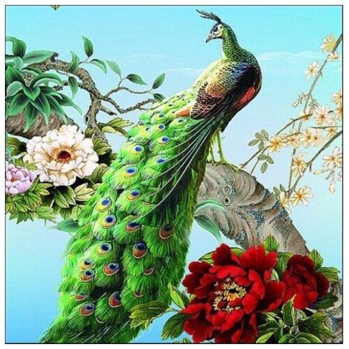Купить Hobbart Картина по номерам Королевский павлин 40х50 см (HB4050308), Картины по номерам и контурам