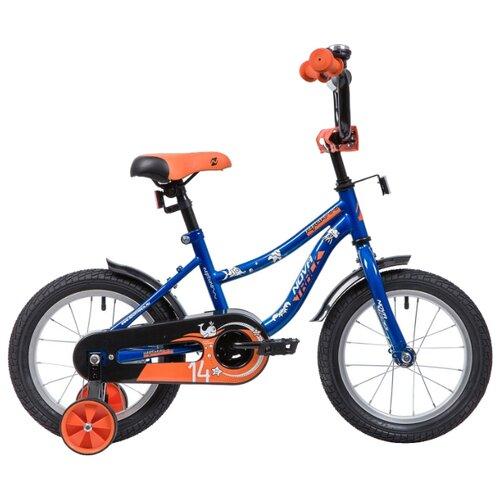 Детский велосипед Novatrack Neptune 14 (2019) синий (требует финальной сборки)