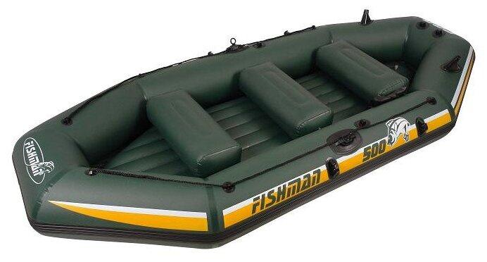 Надувная лодка Jilong Fishman II 500set JL007212N зеленый