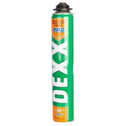 Монтажная пена DEXX PRO 41126 750 мл всесезонная монтажная пена kraftool kraftflex 41175 750 мл всесезонная