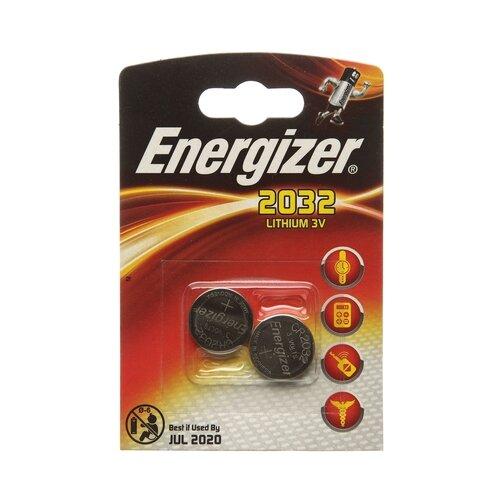 Купить Батарейка Energizer CR2032 2 шт блистер