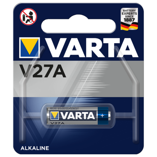 Батарейка VARTA Professional V27A 1 шт блистер батарейка varta energy d lr20 2 шт блистер