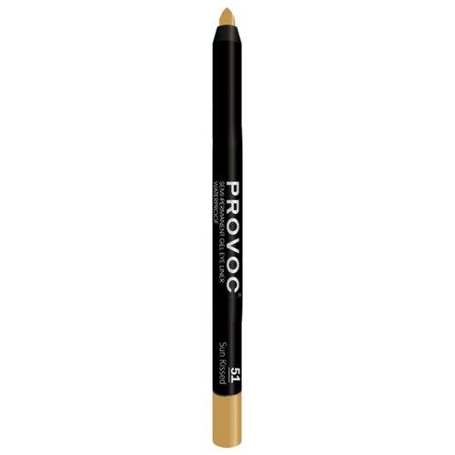 Provoc Гелевый водостойкий карандаш-подводка для глаз, оттенок 51 Sun KissedКонтур для глаз<br>