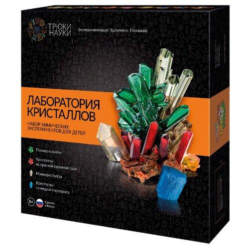 Купить Набор для исследований Трюки науки Лаборатория кристаллов (Z009), Наборы для исследований