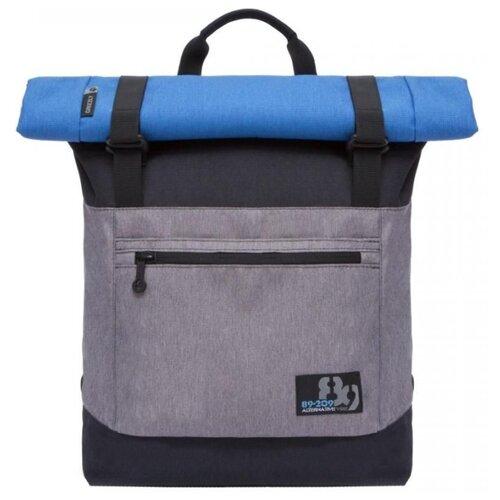 Рюкзак Grizzly RU-814-1 20 черный/серый рюкзак городской grizzly цвет синий ru 804 1 4