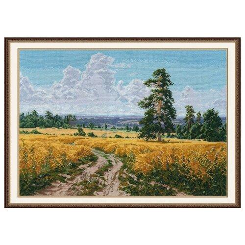 Купить Овен Цветной Вышивка крестом Август 38 х 27 см (1158), Наборы для вышивания