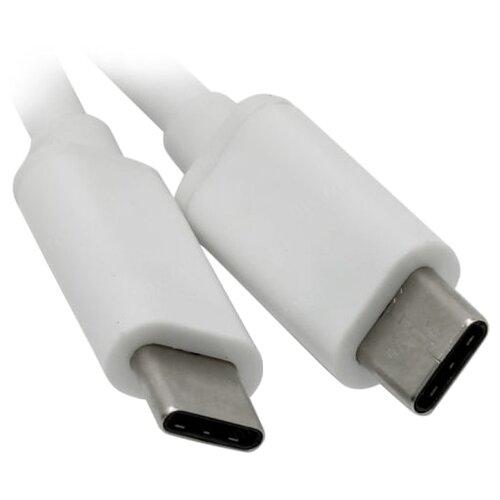 Кабель Telecom USB Type-C - USB Type-C (TC420B) 1 м белый кабель usb type c microusb a data acm32in1 100cmk cbk 1 м