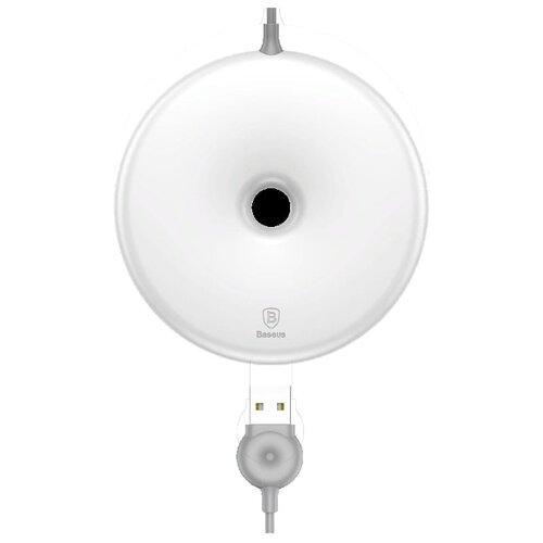 Фото - Беспроводная сетевая зарядка Baseus Donut Wireless Charger белый беспроводная сетевая зарядка baseus ufo desktop wireless charger черный