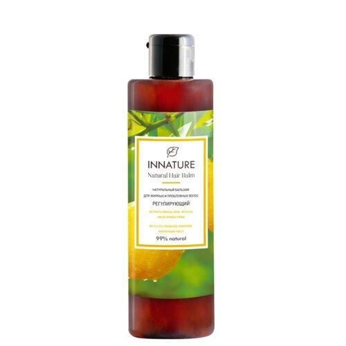 Innature бальзам натуральный Регулирующий для жирных и проблемных волос, 250 мл
