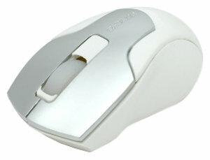 Мышь e-blue EMS049W00 Silver-White USB+PS/2