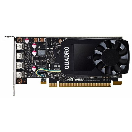 Видеокарта PNY Quadro P1000 4GB (VCQP1000) OEM