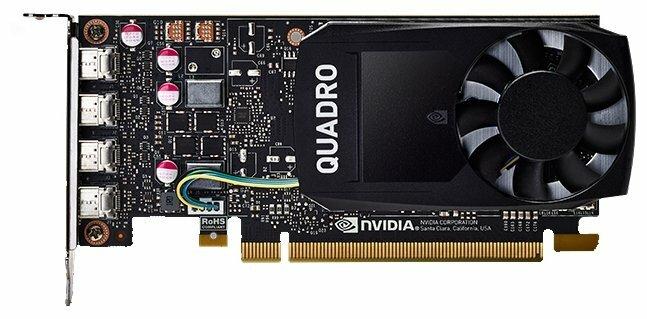 Видеокарта HP Quadro P1000 PCI-E 3.0 4096Mb 128 bit HDCP