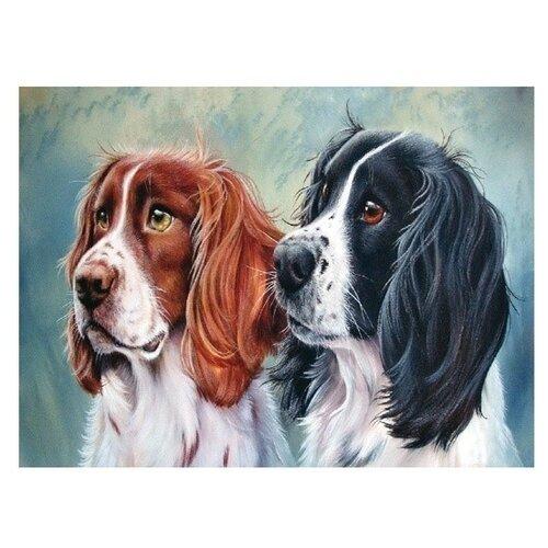 Купить Molly Картина по номерам Два охотника 15х20 см (KH0044), Картины по номерам и контурам