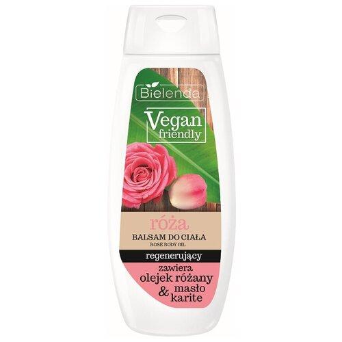 Бальзам для тела Bielenda Vegan Friendly восстанавливающий, роза, 400 млКремы и лосьоны<br>