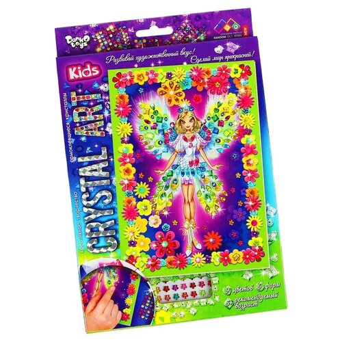 Купить Danko Toys Набор алмазной вышивки Crystal Art Фея (Cart-01-03), Алмазная вышивка
