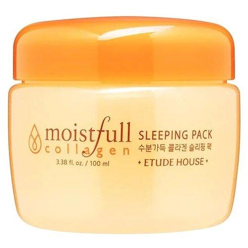 Маска Etude House Moistfull Collagen ночная 100 мл moistfull collagen