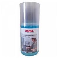 Набор HAMA Screen Cleaning Gel чистящий гель+сухая салфетка для экрана, для оптики