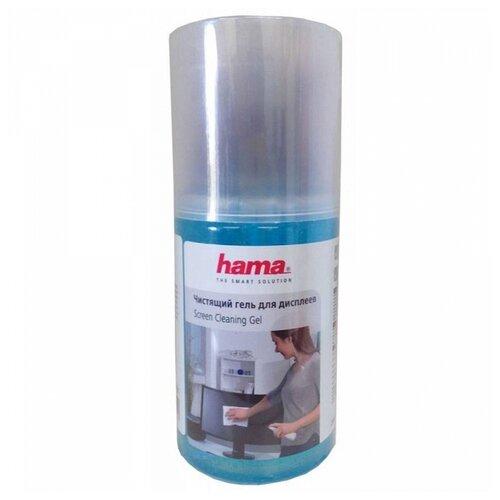 Набор HAMA Screen Cleaning Gel чистящий гель+многоразовая салфетка для экрана, для оптики