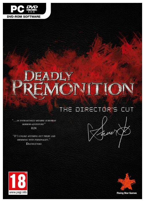 Rising Star Games Deadly Premonition: The Director's Cut