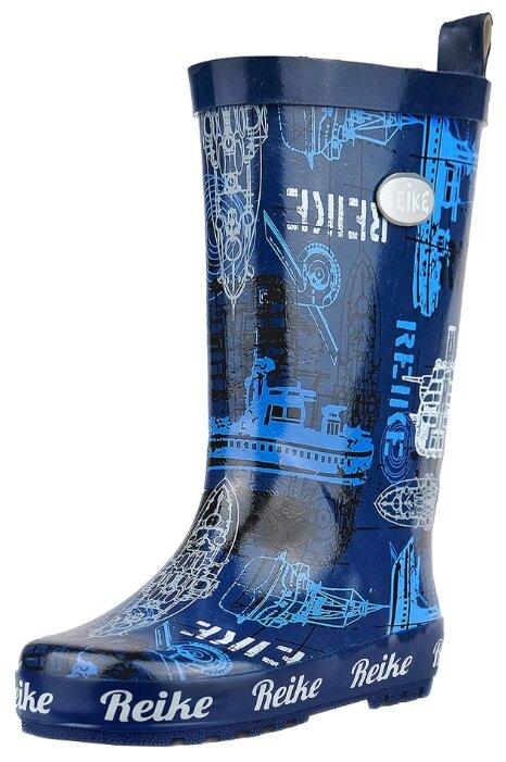 Резиновые сапоги Reike размер 34, темно-синий