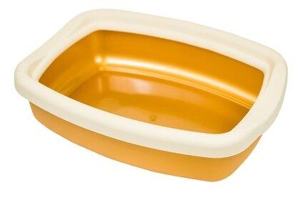 Туалет-лоток для кошек Киспис 10973 43х32х12 см синий