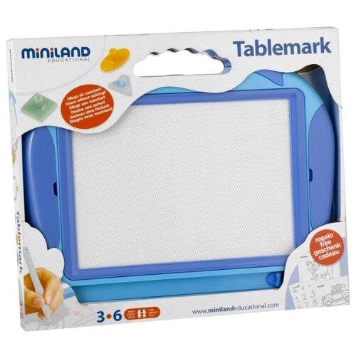 Планшет детский Miniland Tablemark (97933) синийДоски и мольберты<br>