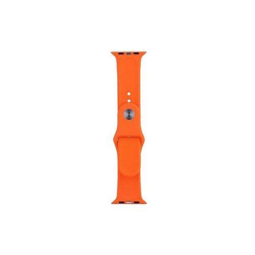 EVA Ремешок спортивный для Apple Watch 38/40mm оранжевый
