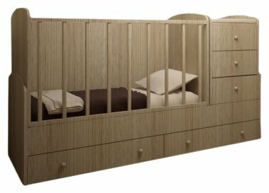 Кроватка Lanami Prima (трансформер)