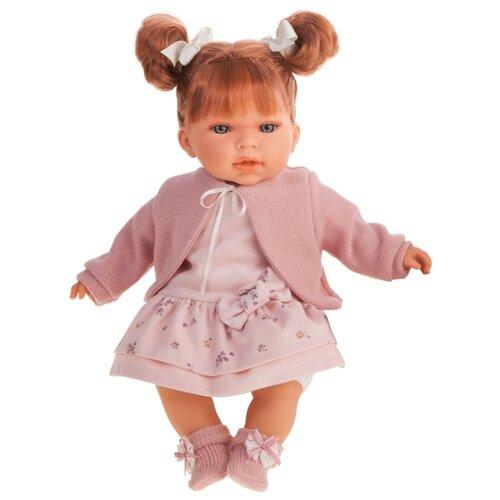 Интерактивный пупс Antonio Juan Альма в розовом, 37 см, 1550Br, Куклы и пупсы  - купить со скидкой