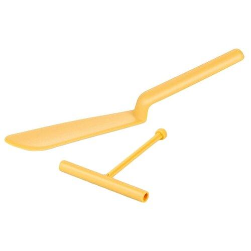 Лопатка Tescoma Delicia 630066 для блинов с распределителем теста, нейлон желтый