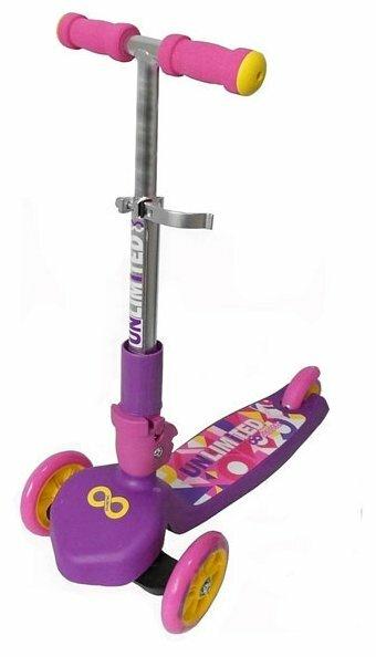 Городской самокат Y-Scoo MS03 Trio Unlimited Pink