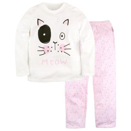 Пижама Bossa Nova размер 28, белый/розовый пижама bossa nova размер 32 зеленый