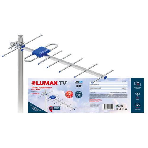 Фото - Уличная DVB-T2 антенна LUMAX DA2213А комнатная антенна lumax da1203a