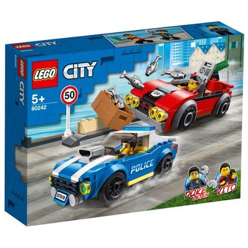 Конструктор LEGO City 60242 Арест на шоссе конструктор city lego lego mp002xb00c9t