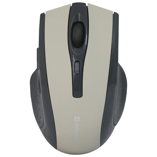 Беспроводная мышь Defender Accura MM-665, серый беспроводная мышь defender accura mm 665 usb red