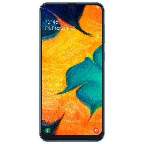 Смартфон Samsung Galaxy A30 32GB синий (SM-A305FZBUSER) смартфон samsung galaxy a30 2019 sm a305f 64gb синий