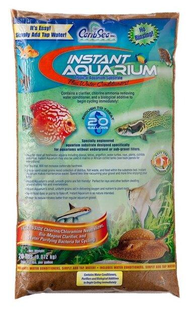 Грунт CaribSea Instant Aquarium Moonlight Sand, 9.07 кг