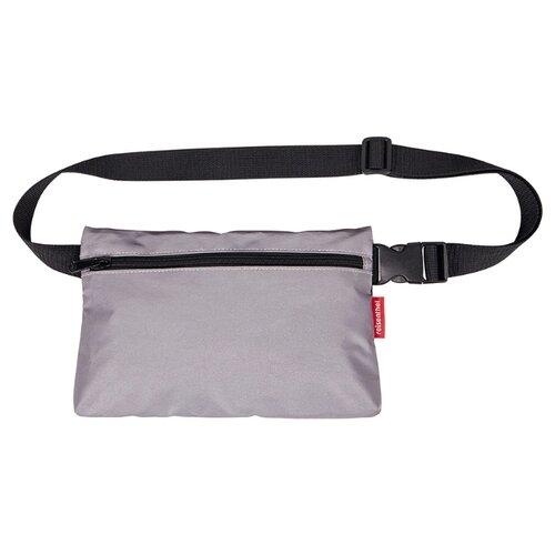 Сумка поясная reisenthel, текстиль, серый сумка поясная kite время и стекло vis19 2562 текстиль