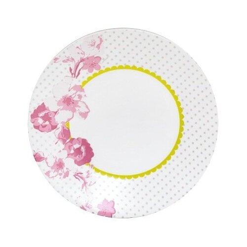 Luminarc Тарелка десертная Essence Covent Garden 19 см белый / розовый