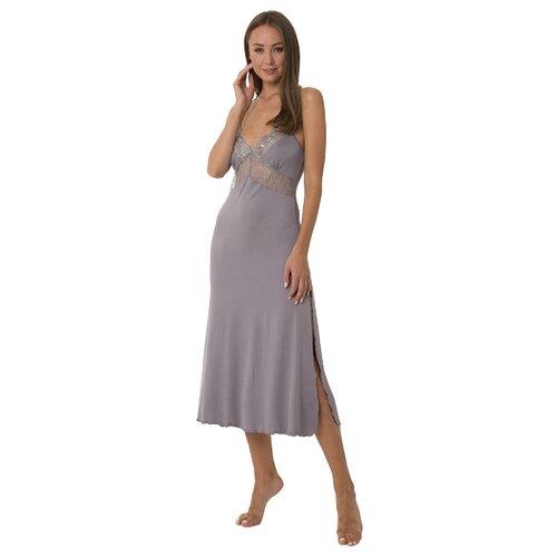 цена Сорочка Monamise размер XXL серый онлайн в 2017 году